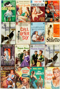 Books:Pulps, [Vintage Paperbacks]. Group of Sixteen Letter Series Vintage DellPaperbacks. New York: Dell, [1950-60s]. Includes works by ...(Total: 16 Items)