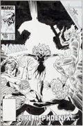 Original Comic Art:Covers, John Byrne and Terry Austin Fantastic Four #286 CoverOriginal Art (Marvel, 1985)....