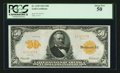 Large Size:Gold Certificates, Fr. 1199 $50 1913 Gold Certificate PCGS About New 50.. ...