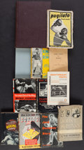 Boxing Collectibles:Memorabilia, 1942-60 Vintage Boxing Books Lot of 11....