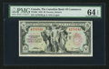 Canadian Currency: , Toronto, ON- The Canadian Bank of Commerce $5 Jan. 2, 1935 Ch. #75-18-04. ...