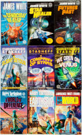 Books:Pulps, [Science-Fiction Paperbacks]. Group of Thirty-One Del RayScience-Fiction Paperbacks. New York: Del Ray, [1980s]. Includesw... (Total: 31 Items)