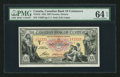 Canadian Currency: , Toronto, ON- The Canadian Bank of Commerce $20 Jan. 2, 1935 Ch. # 75-18-10. ...