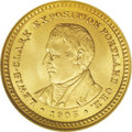 Commemorative Gold: , 1905 G$1 Lewis and Clark MS65 NGC. Congressional legislationauthorizing these coins to be struck was approved on April 13,...