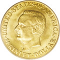 Commemorative Gold: , 1917 G$1 McKinley MS64 PCGS. Of the 30,000 1916- and 1917-datedMcKinley gold dollars produced for distribution, about 20,0...