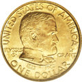 """Commemorative Gold: , 1922 G$1 Grant With Star MS64 NGC. David Bowers, in hisCommemorative Coins of the United States, states that: """"Thepur..."""