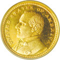 Proof Commemorative Gold: , 1903 G$1 Louisiana Purchase/McKinley PR65 PCGS. Of the 1903McKinley commemorative gold dollars, David Bowers, in hisCom...