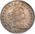 Early Dollars, 1798 $1 Large Eagle, Pointed 9, B-14, BB-122, R.3, AU53 PCGS.CAC....