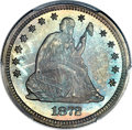Proof Seated Quarters, 1872 25C PR66 PCGS. CAC....