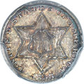 Three Cent Silver, 1858 3CS MS66 PCGS....