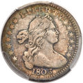 Early Half Dimes, 1803 H10C Large 8 XF40 PCGS. V-1, LM-2, R.4....