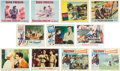 Music Memorabilia:Posters, Elvis Presley Group of Lobby Cards from Various Films (1960s)....