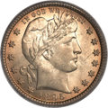 Barber Quarters, 1895-O 25C MS66 PCGS. CAC....
