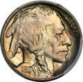 Buffalo Nickels, 1913 5C Type Two MS67 PCGS. CAC....
