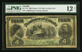 Canadian Currency: , DC-17b $4 1902.. ...