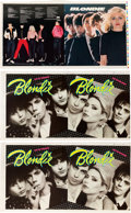 Music Memorabilia:Posters, Blondie (Private Stock PS2023, 1976) and Eat to theBeat (Chrysalis CHE 1225, 1979) LPs: Original Full Alb...