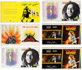 Music Memorabilia:Posters, Bob Marley and the Wailers Original Full Album Cover Press Proofsfor Various LPs (1975-1980)....