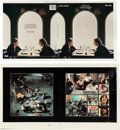Music Memorabilia:Posters, Beatles Let It Be LP (Apple AR-34001, 1970): Original InsideCover Double Press Proof with an Original Full Cover ...