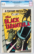 Golden Age (1938-1955):Horror, Feature Presentation #5 The Black Tarantula - Mile High pedigree(Fox, 1950) CGC VF/NM 9.0 Off-white to white pages....
