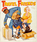 Books:Children's Books, [African American]. Travel Friends. New York: Saml. GabrielSons & Company, 1940. Octavo. Publisher's original picto...