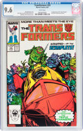 Modern Age (1980-Present):Science Fiction, Transformers #29 (Marvel, 1987) CGC NM+ 9.6 White pages....