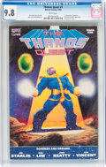 Modern Age (1980-Present):Superhero, Thanos Quest #1 (Marvel, 1990) CGC NM/MT 9.8 White pages....