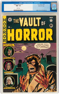 Vault of Horror #17 Gaines File pedigree (EC, 1951) CGC NM+ 9.6 White pages