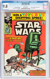 Star Wars #40 (Marvel, 1980) CGC NM/MT 9.8 White pages