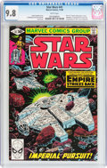 Modern Age (1980-Present):Superhero, Star Wars #41 (Marvel, 1980) CGC NM/MT 9.8 White pages....
