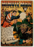Golden Age (1938-1955):Superhero, Minute Man #3 (Fawcett Publications, 1942) Condition: VG+....