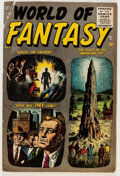 Golden Age (1938-1955):Science Fiction, World of Fantasy #1 (Atlas, 1956) Condition: VG/FN....