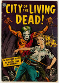 Golden Age (1938-1955):Horror, City of the Living Dead #nn (Avon, 1952) Condition: ApparentVG-....