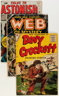 Golden Age (1938-1955):Miscellaneous, Comic Books - Assorted Golden Age Comics Group (Various Publishers, 1950s) Condition: Average VG/FN.... (Total: 8 Comic Books)