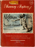 Books:Mystery & Detective Fiction, Dashiell Hammett. Nightmare Town. New York: The AmericanMercury, [1948]. Trade paperback. Twelvemo. Publisher's ori...