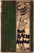 Books:Americana & American History, [Almanac]. The Foolish Almanack. Boston: John W. Luce, 1905.Third edition. Twelvemo. Publisher's green cloth bindin...