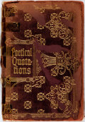 Books:Reference & Bibliography, [Quotations]. George W. Powers, editor. Handy Dictionary ofPoetical Quotations. New York: Thomas Y. Crowell & Co. [...