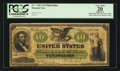 Large Size:Demand Notes, Fr. 7 $10 1861 Demand Note PCGS Apparent Very Fine 20.. ...