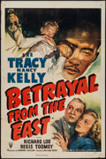 """Movie Posters:Adventure, Betrayal from the East (RKO, 1944). One Sheet (27"""" X 41"""").Adventure.. ..."""