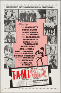 """The T.A.M.I. Show (American International, 1964). One Sheet (27"""" X 41""""). Rock and Roll"""