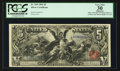 Large Size:Silver Certificates, Fr. 269 $5 1896 Silver Certificate PCGS Apparent Very Fine 30.. ...