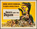 "Movie Posters:Adventure, Goliath and the Dragon (American International, 1960). Half Sheet(22"" X 28""). Adventure.. ..."