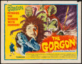 "Movie Posters:Horror, The Gorgon (Columbia, 1964). Half Sheet (22"" X 28""). Horror.. ..."
