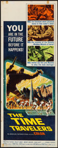 "Movie Posters:Science Fiction, The Time Travelers (American International, 1964). Insert (14"" X36""). Science Fiction.. ..."