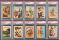 "Non-Sport Cards:Sets, 1953 Post Cereal ""Roy Rogers"" PSA Near Set (29/36). ..."