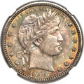Barber Quarters, 1903-O 25C MS66 NGC....