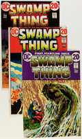 Bronze Age (1970-1979):Horror, Swamp Thing Group (DC, 1972-76) Condition: Average VG/FN....(Total: 11 Comic Books)