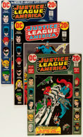 Bronze Age (1970-1979):Superhero, Justice League of America Group (DC, 1972-80) Condition: Average FN-.... (Total: 77 Comic Books)