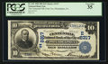 National Bank Notes:Pennsylvania, Philadelphia, PA - $10 1902 Plain Back Fr. 632 The Centennial NBCh. # (E) 2317. ...