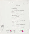Animation Art:Production Drawing, Sesame Street 4 Cartoon Vignettes Animation Storyboard Printand Script Group (Pantomime Pictures, 1970-80s).... (Total: 14Original Art)