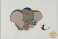 Animation Art:Model Sheet, Dumbo Limited Edition Serigraph Cel (Disney, 1988)....